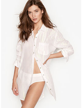 Button Front Sleepshirt by Victoria's Secret