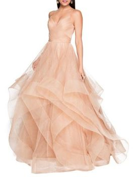 Glitter Tulle Gown by Glamour By Terani Couture