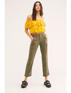 Rolled Up Cargo Pants by Free People