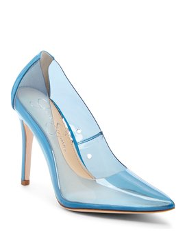 Pixera2 Clear Pumps by Jessica Simpson