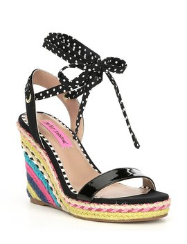Colvin Espadrille Wedges by Betsey Johnson