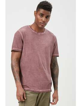 Oil Wash Tee by Forever 21