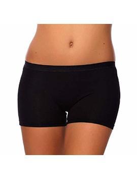 Sevim Women's 3 Pack Comfortable Cotton Bike Yoga Boxer Brief Boyshort by Sevim