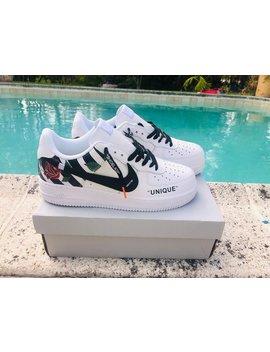 """<Span Data Inner Title="""""""">Nike Air Force 1 X Off White Inspired Custom Design Men/Women Sizes Designer Luxury Brand Af1</Span> by Etsy"""