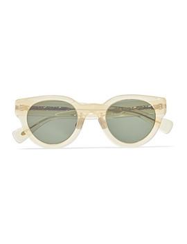Cat Eye Acetate Sunglasses by Eyevan 7285
