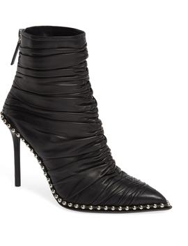 Eri Studded Ruched Bootie by Alexander Wang