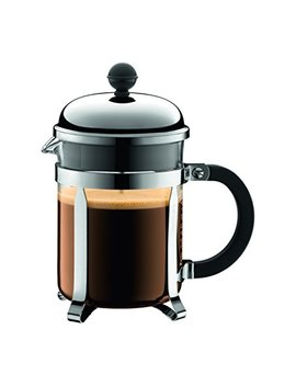 Bodum Chambord French Press Coffee Maker, 17 Ounce, .5 Liter, Chrome by Bodum