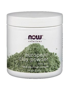 Now European Clay Powder 6 Oz(S) by Now Foods