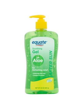 Equate After Sun Soothing Gel With Aloe, 20 Oz by Equate