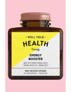Energy Booster Dietary Supplement by Well Told Health