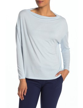 Cowl Neck Long Sleeve Tee by Vince