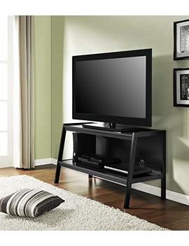 """Ameriwood Home Lawrence 45"""" Ladder Tv Stand, Black by Ameriwood Home"""