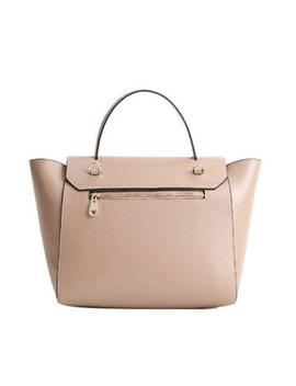 New Fashion Genuine Leather Women Handbag Luxury Women Bag Designer Brand Bag Women Shoulder Crossbody Trapeze Bag Casual Tote by Esufeir