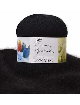 Long Ming 13 Nm/2 2 Ply 100 Percents Mink Cashmere Yarn, Soft And Warm, Noble, Crafts, Knitting, Anti Pilling (1.76 Oz, Ln82) by Longming