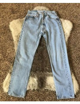 Vintage Levis 501 Jeans 26x29 Button Fly by Levi's
