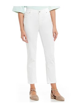 Straight Ankle Jeans by Eileen Fisher