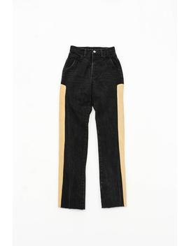 "<Span Data Preview Title="""">Custom Vintage Rocky Mountain Black Jeans 23x30 Unique Women's Jeans 100 Percents Co...</Span>          <Span Data Full Title="""" Aria Hidden=""True"" Class=""Display None"">Custom Vintage Rocky Mountain Black Jeans 23x30 Unique ... by Etsy"