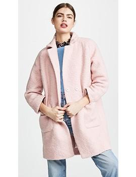 Boucle Wool Coat by Ganni