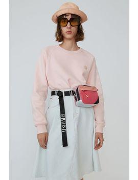 Raglan Sleeve Sweatshirt Blossom Pink by Acne Studios