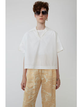 Boxy Shirt White by Acne Studios