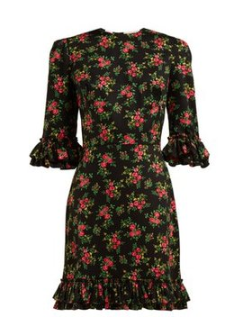 Festival Gypsy Print Cotton Dress by The Vampire's Wife