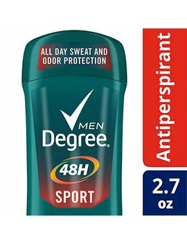 Degree Men Antiperspirant Deodorant Stick, Sport 48 Hour Protection, 2.7 Oz, Pack Of 6 by Degree Mens Deo