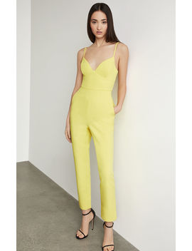 Strappy Cutout Back Jumpsuit by Bcbgmaxazria