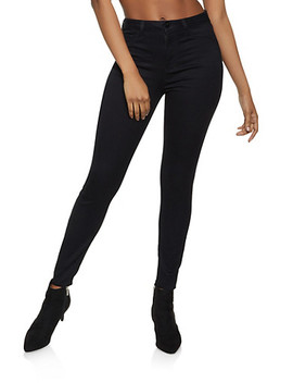 Cello Solid High Waisted Jeans by Rainbow