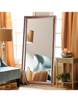Brandt Works Vintage Copper Hill Leaning Floor Mirror by Brandt Works