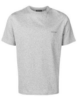 Logo Print T Shirt by Balenciaga