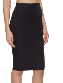 Stretch Pencil Skirt by Rainbow