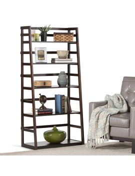 Brooklyn & Max Axss008 Kd Acadian Ladder Shelf by Brooklyn & Max