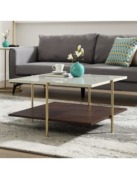 Manor Park Mid Century Square Coffee Table by Manor Park