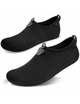 L Run Men's Water Sports Shoes Womens Barefoot Quick Dry Aqua Socks For Swim Beach Pool Surf Yoga by Amazon