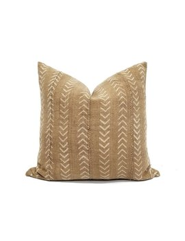 Mudcloth Pillow Cover, Various Sizes Camel/Muted Mustard Mudcloth Pillow, African Mudcloth by Etsy