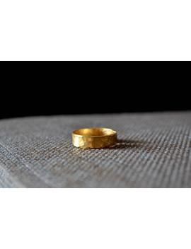 Unisex Ring, Gold Ring, Men's Ring, Copper Ring, Everyday Ring, Simple Ring, Brass Ring, 18 K Gold Plated by Etsy
