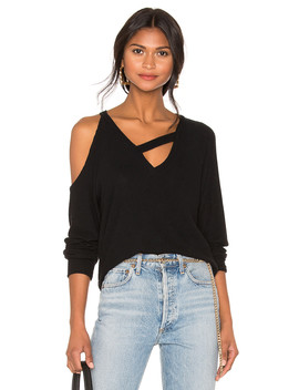Fallen Rib Sweater by Lna