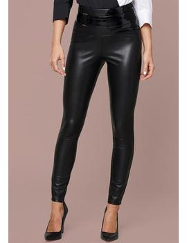Vienna Belted Leggings by Bebe