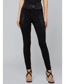 Quilted Leggings by Bebe