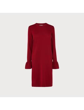 Pierina Red Sweater Dress by L.K.Bennett