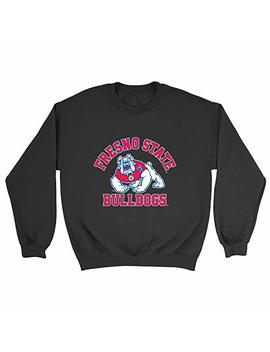 Official Ncaa Fresno State Bulldogs   Sc60 Fr Mens/Womens Boyfriend Sweatshirt by Venley