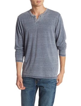 Long Sleeve Burnout Tee by Lucky Brand