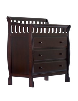 Dream On Me Marcus Changing Table And Dresser, Espresso by Dream On Me