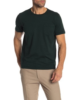 Short Sleeve Knit Pocket Tee by Brooks Brothers