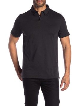 Refined Solid Short Sleeve Polo by 14th & Union