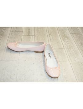 Repetto Cendrillon Patent Leather Ballet Flats   Pink by Repetto