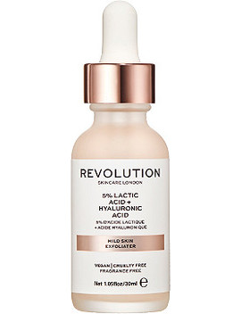 Online Only Revolution Skin Mild Skin Exfoliator   5 Percents Lactic Acid + Hyaluronic Acid by Revolution Skincare