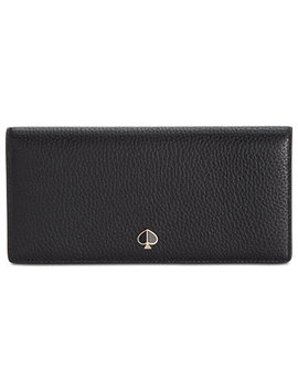 Polly Bifold Continental Leather Wallet by Kate Spade New York