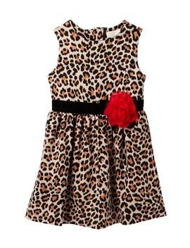 Classic Leopard Dress (Big Girls) by Kate Spade New York