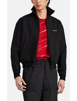 Logo Tech Jersey Track Jacket by Balenciaga